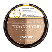 ABSOLUTE NEW YORK Pro Contour Palettes Light