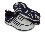 RECORD Cupertino Men Running Shoes White Navy
