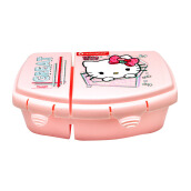 TECHNOPLAST Hello Kitty Kawaii Double Lock Sealware 660ml