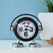 THE OLIVE HOUSE - Clock Wekker Black