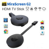 JOYSEUS HDMI media player wireless display receiver dongle Mirascreen G2 Adapter Mini PC Android TV stick Black