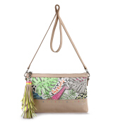 SAKROOTS Seni Clutch in Neon Wildlife