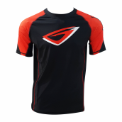 GENETIX ICON Rashguard SS RG002 BlackRed