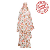 Mukena TATUIS Tiara 287 - Brown Peach - Regular [One Size]