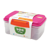 TECHNOPLAST Bellagio Lunch Box Recta Large Magenta