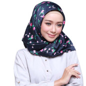 RAFHANAH Kelly Scarf - Navy [All Size]
