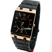 MIRAGE Watch Men 7908M Black Rg - Rosegold