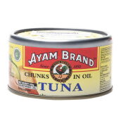 AYAM BRAND Tuna Chunk In Oil 185 gr