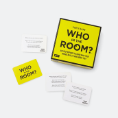 HYGGE GAMES Who in the Room? White and Yellow small