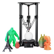 LCD Screen 3D Printer For Kossel Linear Delta Large Printing Size 180x300 mm