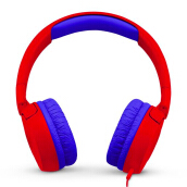 JBL JR 300 Kids On-Ear Headphones with Safe Sound Technology - Red