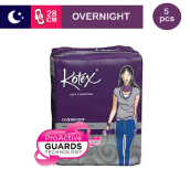 KOTEX Soft & Smooth Overnight 28 Cm - 5 S