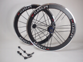 DELTA CYCLES Viets Wheelset CARBON 406 20inch 74/130mm Black Glossy