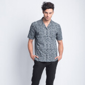 ART.TIK-Godong Cipir Cuban Shirt-Navy