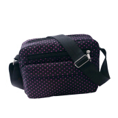 Jantens Polka Dot Pattern Mommy Diaper Bag Baby Storage Bag Storage Cart Portable Baby Care Bag