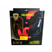 Nubwo Stereo Headphone NO.530 Red