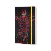 MOLESKINE The Avengers Limited Edition Notebook Large Ruled Hard Ironman