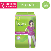 KOTEX Fresh Liner Longer & Wider - 32 S