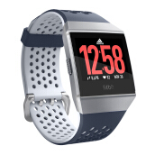 FITBIT Ionic Adidas Edition Heart Rate GPS Fitness SmartWatch Resmi - Adidas Edition