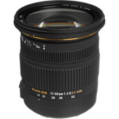 Sigma 17-50mm f/2.8 EX DC OS HSM Zoom Lens for Nikon DSLRs with APS-C Sensors Black
