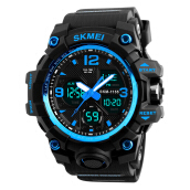 Skmei-1155B original men's waterproof electronic watch fashion multi-function outdoor sports watch