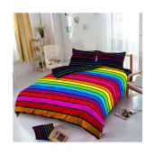 Kintakun D'luxe Bed Cover - 180 x 200 (King) - Rainbow