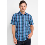 COTTONOLOGY Men's Shirt Nino Blue