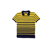 POLO RALPH LAUREN - Classic-Fit Lacoste Striped Polo Shirt Yellow-Navy