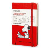 MOLESKINE Notebook 16 Weekly Peanut Pocket DPE12WN2Y16F