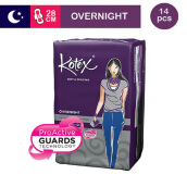 KOTEX Soft & Smooth Overnight 28 Cm - 14 S
