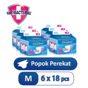 CERTAINTY Value Pack Size M Carton 6 Bag x18 Pcs