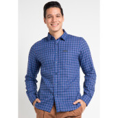 COTTONOLOGY Men's Shirt Austin Blue