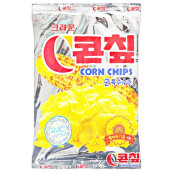 Corn Chips Savory Flavor Mineral Salt Korean Natural Snack