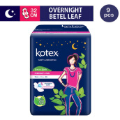 KOTEX Soft & Smooth Overnight Trimax 32 cm (9 pcs)
