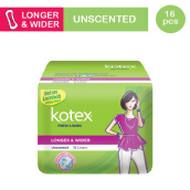 KOTEX Fresh Liner Longer & Wider - 16 S