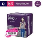 KOTEX Soft & Smooth Overnight 32 Cm - 9 S