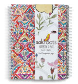 SAKROOTS Set Notebook in Sweet Red Brave Beauti