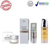 Erto's Original Paket Ertos CC Cream Night Cream Serum Kinclong - 3 Item Ertos Paket No.6