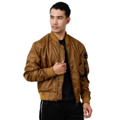 W.ESSENTIELS Charaix Bomber Jacket Cigar