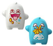 FLIPPER Toothbrush Cover - Clumsy & Glutton (2 pcs)