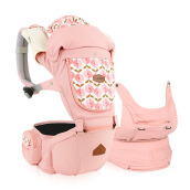 I-ANGEL Hipseat Carrier Miracle Pastel - Pink