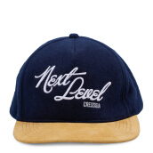 CRESSIDA Embro Next Level Caps - Navy [All Size]