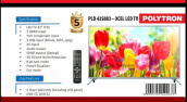 Polytron PLD 43S883 TV LED FHD 43 INCHI - HITAM