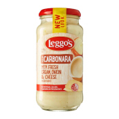 Leggo's Carbonara Onion & Cheese Saus Krim 490 g