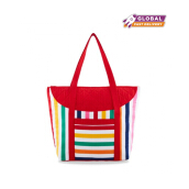 Naraya Rainbow Striped Totebag NBSM-749N CP131