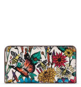 Sakroots Slim Wallet Optic In Bloom