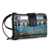 Sakroots Smartphone Crossbody Wallet Radiant One World