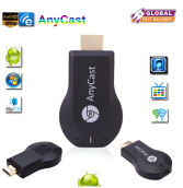 JOYSEUS HDMI Full HD1080P Anycast M2 Ezcast Miracast Any Cast Air Play Wifi Display Receiver Dongle for Windows Andriod Black