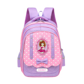 Hui Tong Printed Sweet Little Princess Children's Bow Backpack