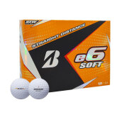 Bridgestone Ball E6 Soft White
